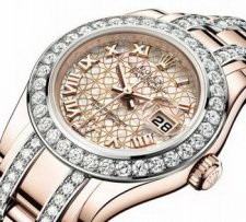 Часы Rolex datejust pearlmaster