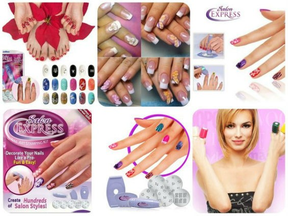 Набор для печати на ногтях Salon Express