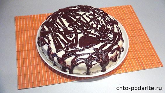 Шоколадный торт Пикассо