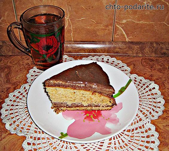 Шоколадный торт Сметанник