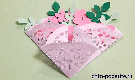 Фиксируем лепестки и цветы