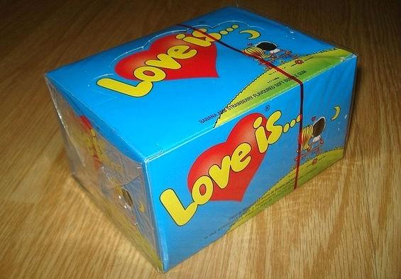 Love is блок жвачек