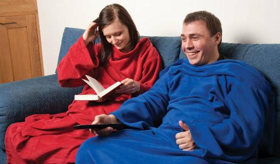 """Одеяло-плед """"Уютная зима"""""""