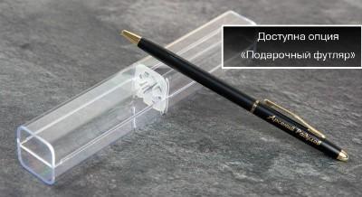 Ручка и пластиковый футляр