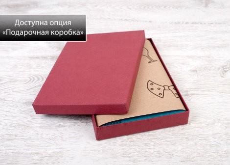 Именной блокнот в подарочной упаковке