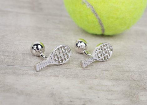 Запонки теннис