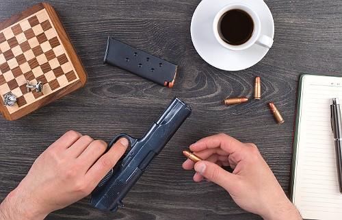 Именной пистолет из шоколада