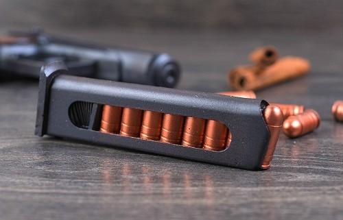Обойма и пули шоколадного пистолета