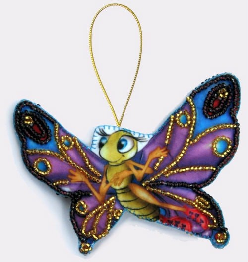 Самодельная бабочка