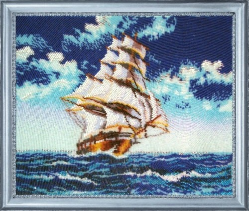Вышитый корабль