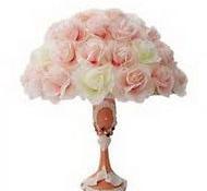 Настольная лампа букет цветов