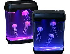 Аквариум со светящимися медузами