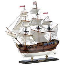 Подарок модель корабля