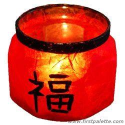 Подсвечник в китайском стиле
