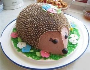Торт-ежик