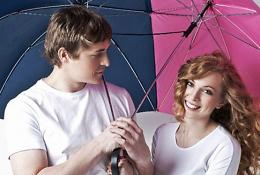 Зонт для двоих Сближающий
