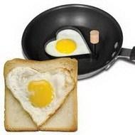 Форма для приготовления яичницы-сердце