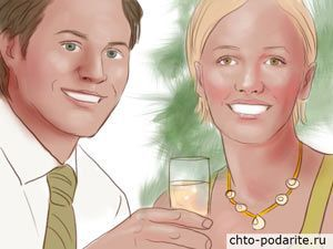 Муж с женой в канун Нового года