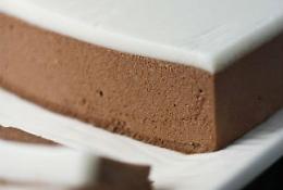 шоколадный торт-мусс с кремом