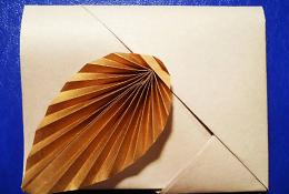 Подарочный оригами-конверт