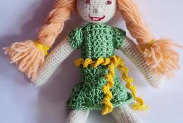 Вязаная кукла своими руками мастер-класс