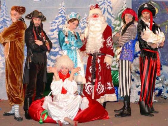сценарий на новый год с участием бабы яги деда мороза и снегурочки