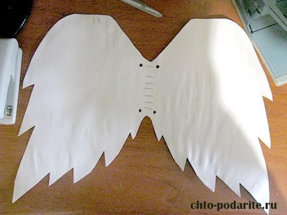 Как самому сделать крылья ангела фото 566