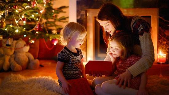 Подарки дети новый год