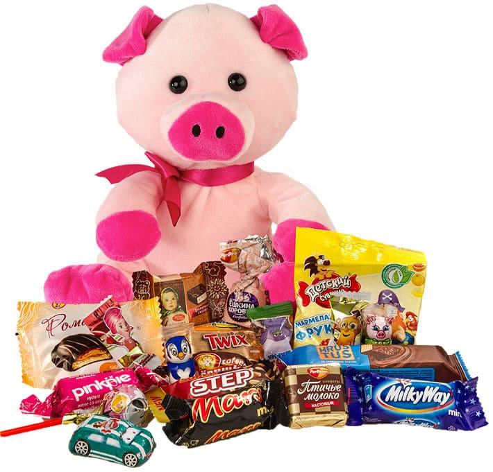 сладкие подарки для детей на год свиньи