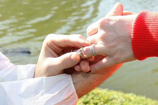 Надевать кольцо на палец