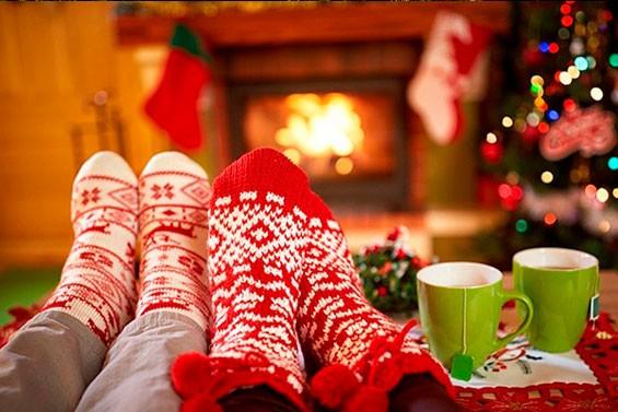 зимние подарки на новый год