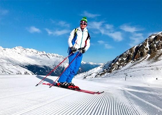 катание на лыжах в подарок