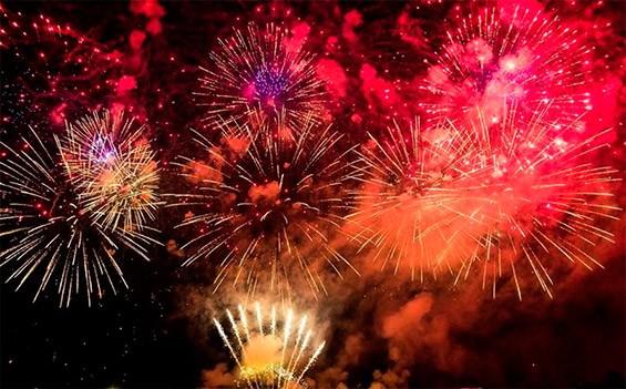 фейерверки на новый год