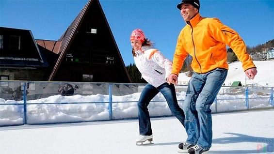 катание на коньках в день святого валентина