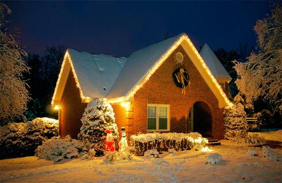 дом для проведения нового года