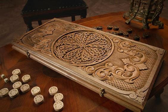 деревянные нарды