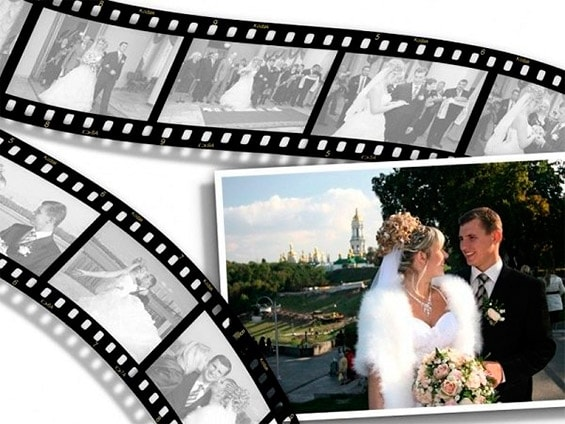 слайд шоу на годовщину свадьбы