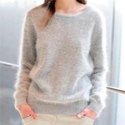 Нежный свитер из ангоры