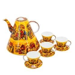Оригинальный заварочный чайник с чашками