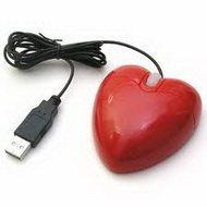Компьютерная мышь в форме сердца