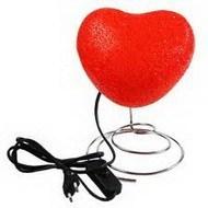 Светильник в форме сердца