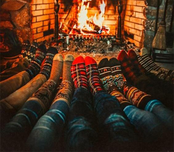 Носки с жаккардом точно что нужно для уютной зимы
