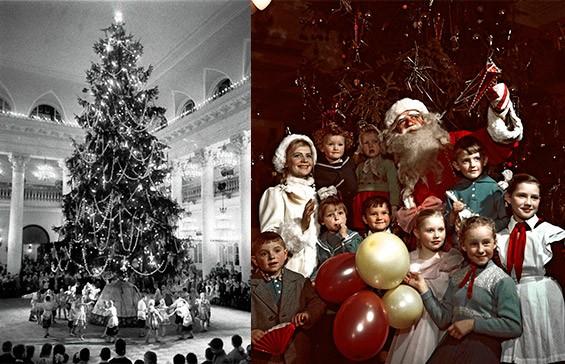 Празднование Нового года Белой металлической Крысы в 1960 году