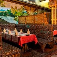 Посещение восточного ресторана