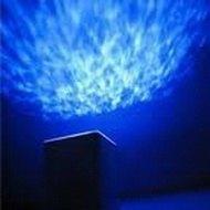 Проектор «под водой» (на потолке проецируется изображение водной глади)