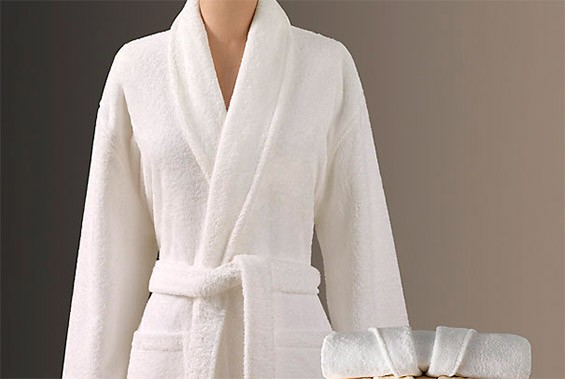 махровый халат в подарок