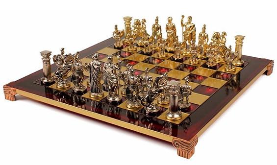Шахматы в древнеримском стиле