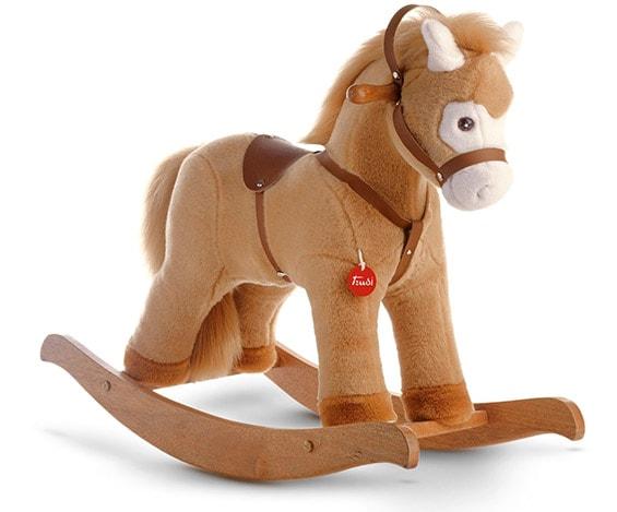 Мягкая лошадка-качалка