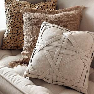 Набор стильных декоративных подушек