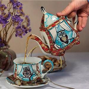 Необычный чайный сервиз